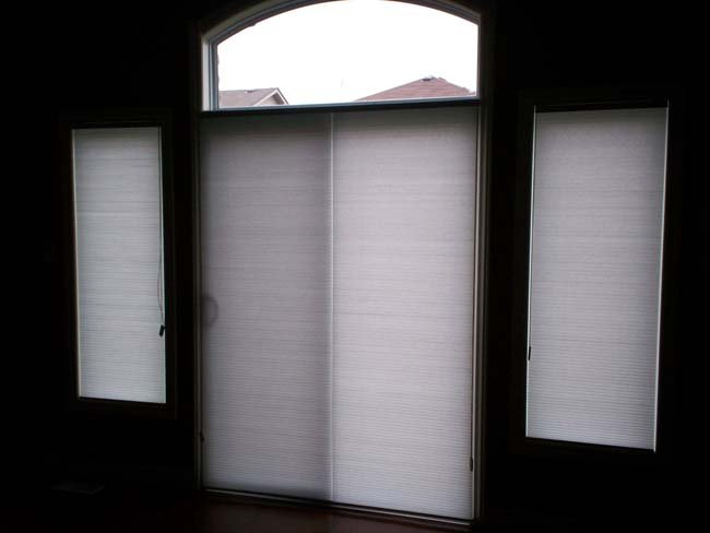 Residential Application - Pleated Shades
