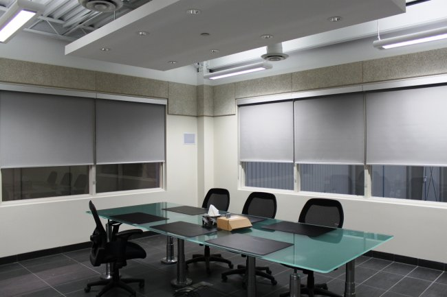 manual operated roller shades
