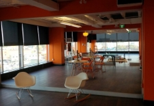 Mapped In - install of ebony roller shades (2)