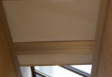 Skylight blinds 1 closed