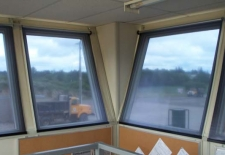Commercial Application - Sun Shades