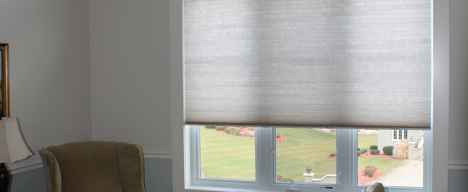 Waterloo Cellular Pleated Window Shades Kitchener Single