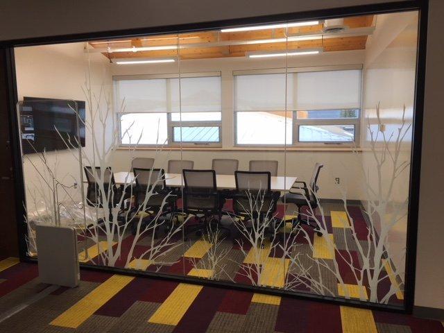UV Printed Trees