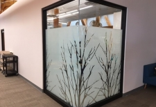Lintec 2100ZC Printed trees in white