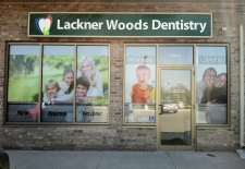 Printed Window Film Dental Office