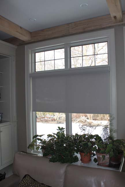 Residential Application - Roller Shades