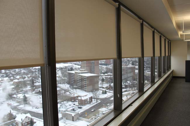 Security Window Film >> Kitchener Window Blinds Residencial Roller Shades Commercial SunShades Waterloo Ontario