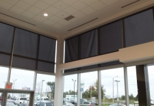 Large spring assist roller shades Guelph Hyundai (1)