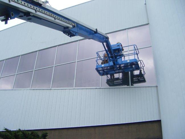 Kin Canada exterior film Madico window tint